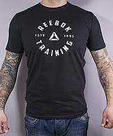 Розміри: 44/46/48/50/52. Чоловіча спортивна футболка Reebok (Рібок)