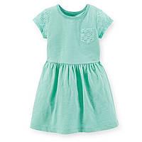 Платье ТМ Carters (Картерс) бирюзовое (3Т, 5Т)