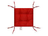 Подушка на стул 40х40 (борт 5см) COLOR красная