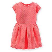 Платье ТМ Carters (Картерс) коралловое (2Т, 4Т)