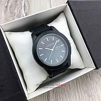 Мужские кварцевые часы Lacoste EY001 черные с черным циферблатом (08133) копия, фото 1