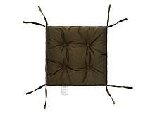 Подушка на стул 40х40 (борт 5см) COLOR хаки