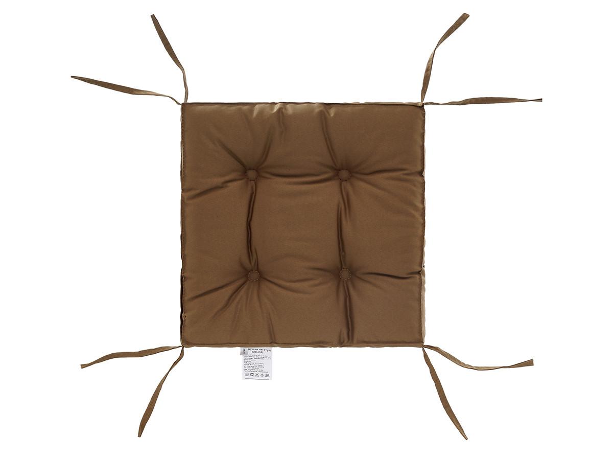 Подушка на стул 40х40 (борт 5см) COLOR капучино