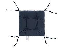 Подушка на стул 40х40 (борт 5см) COLOR мокрый асфальт