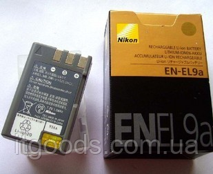 Аккумулятор Nikon EN-EL9a для D5000 | D3000 | D60 | D40x | D40 (аналог)