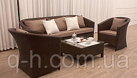 Комплект мебели диван, 2 кресла и столик журнальный Barselona - Barselona-27