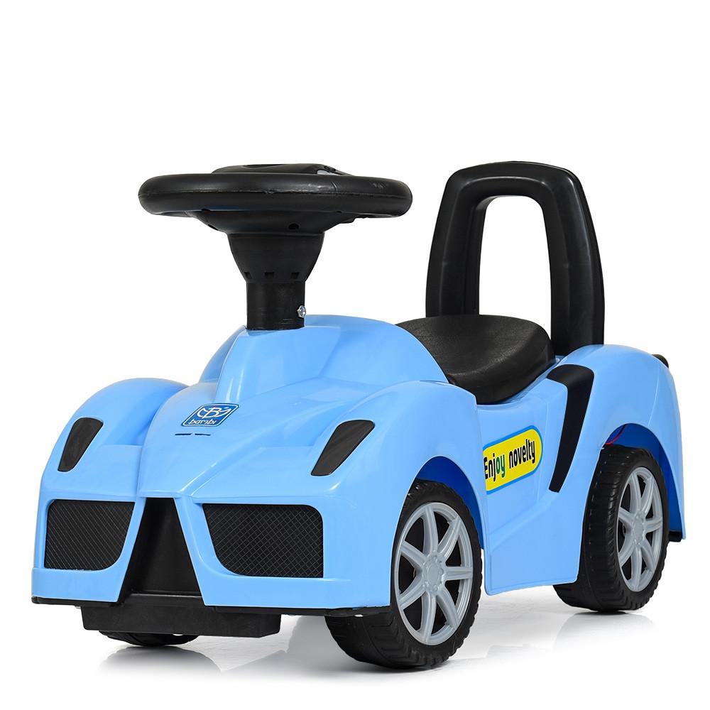 Каталка-толокар F6688-4 Синий Гарантия качества Быстрая доставка