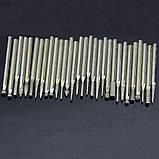 Набор алмазных боров 30шт 2.3мм -к алмазный бор насадка бур сверло гравер патрон цанга Dremel, фото 3