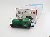 PIKO 52744 модель локомотива маневровый тепловоз ТГК2-7624 СЖД,масштаба 1/87,H0, фото 1