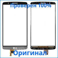Сенсорный экран LG G3 D855 черный (тачскрин, стекло в сборе), Сенсорний екран LG G3 D855 чорний (тачскрін, скло в зборі)