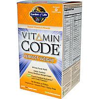 Сырые Витамины, идеальный вес, Vitamin Code, Garden of Life, 240 капсул