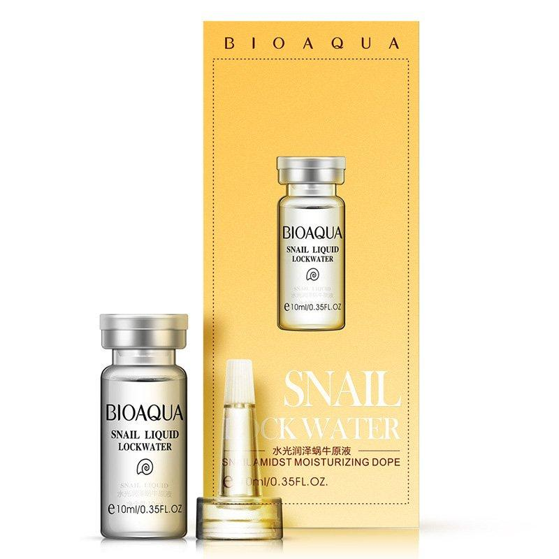 Сыворотка для лица с муцином улитки Bioaqua Snail Lockwater Liquid (10мл)