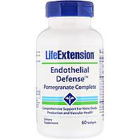 Укрепление сердечно-сосудистой системы с гранатом, Endothelial Defense, Life Extension, 60 капсул