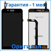 Original дисплей Asus ZenFone Go ZC500TG черный (LCD экран, тачскрин, стекло в сборе), Original дисплей Asus ZenFone Go ZC500TG чорний (LCD екран,