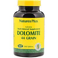Natures Plus, Dolomite, 44 Grain, 300 Tablets