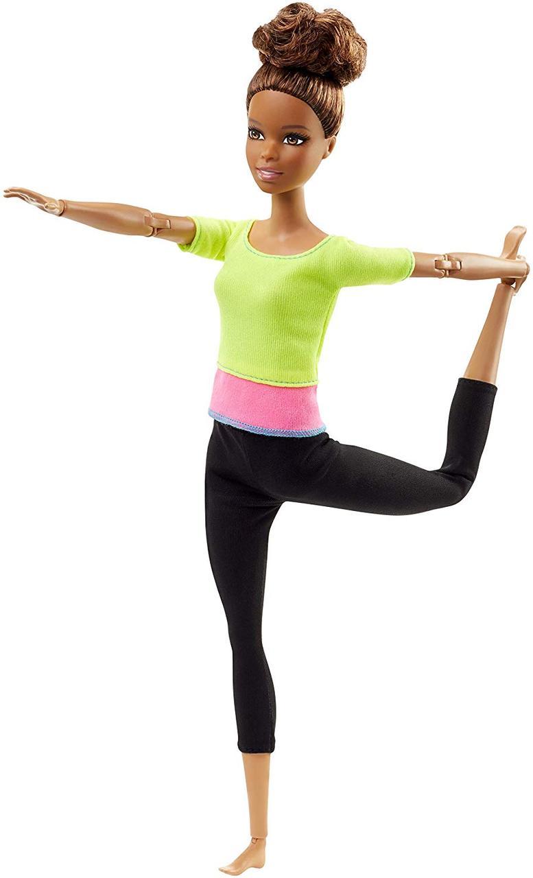 Кукла Barbie Барби Йога Афроамериканка Безграничные движения