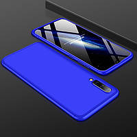 Чехол GKK 360 для Samsung Galaxy A50 2019 / A505 Бампер оригинальный Blue, фото 1
