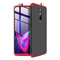Чохол GKK 360 для Xiaomi Mi 9T / Redmi K20 бампер оригінальний Black-Red
