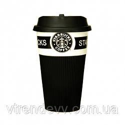 Чашка керамическая термо Starbucks 350 мл