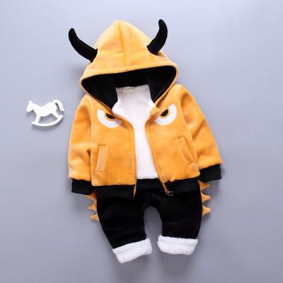 Детский костюм теплый на меху