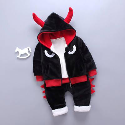 Детский костюм теплый на меху, фото 2