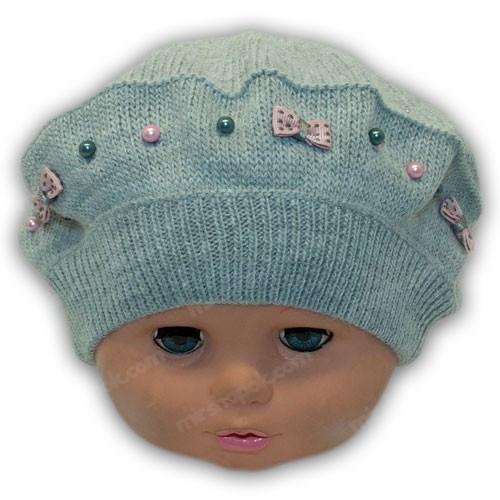 шапки береты для детей