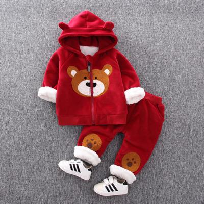 Детский костюм теплый мишка