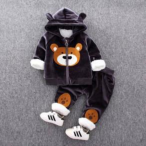 Детский костюм теплый мишка, фото 2