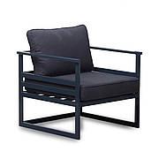 Дизайнерское металлическое кресло в стиле Лофт для дома, ресторана, офиса 760х760х660 мм