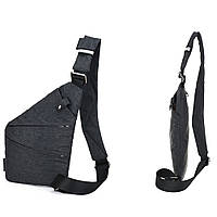 Мужская сумка Cross Body / Сумка Мессенджер Fino(серый)