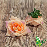 Головка роз Черри персиковый