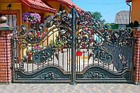Роспашные ворота своими руками