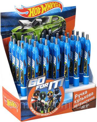 Ручка шариковая, автоматическая «Hot Wheels», фото 2