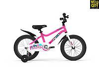 """Велосипед детский RoyalBaby Chipmunk 14"""", OFFICIAL UA, розовый"""