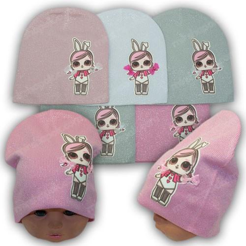 Польские детские шапки LOL, р. 46-48