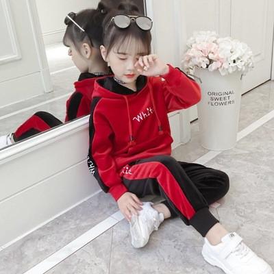 Детский тёплый костюм на девочку