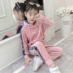 Детский тёплый костюм на девочку, фото 2