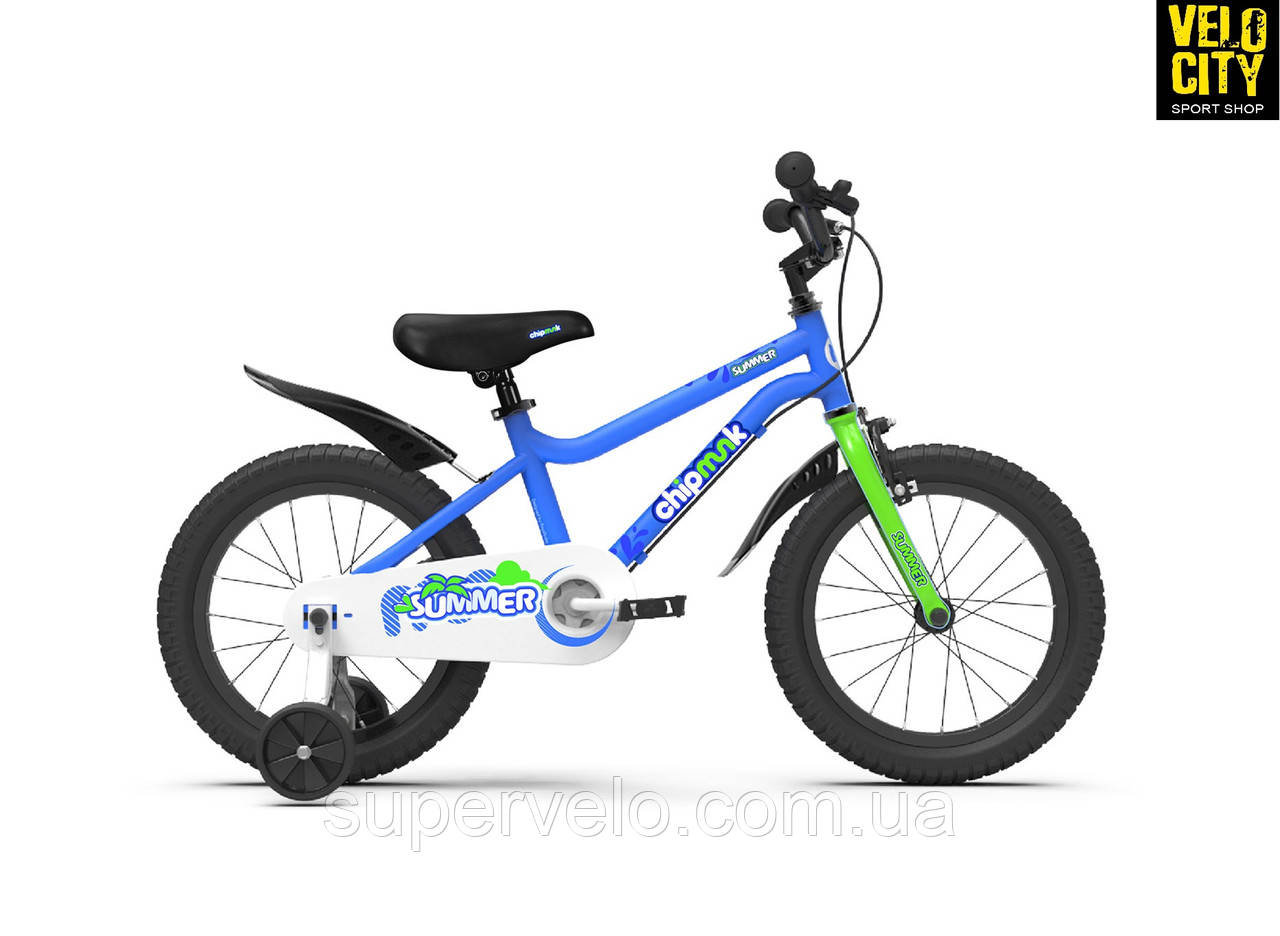 """Велосипед детский RoyalBaby Chipmunk  14"""", OFFICIAL UA, синий, фото 1"""