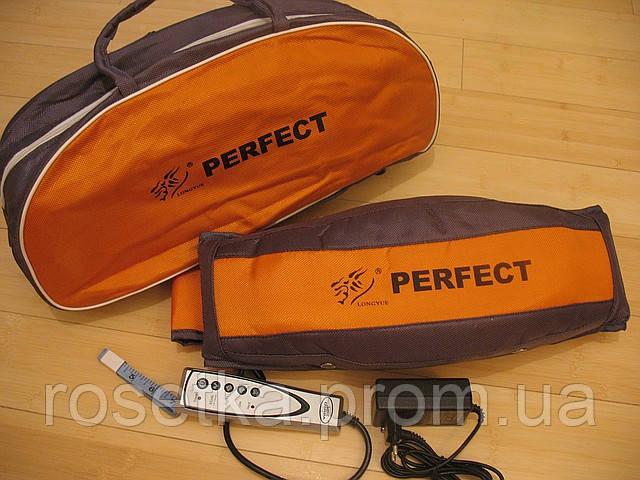 Вібро-масажний пояс для схуднення з підігрівом Perfect Longyue