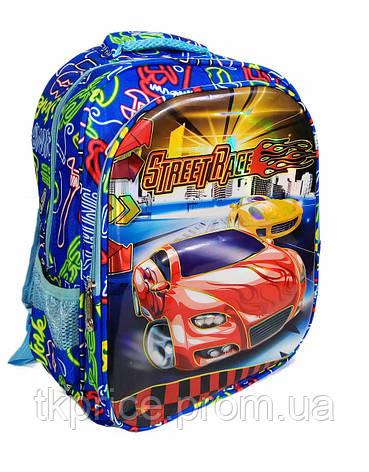 Школьный рюкзак для мальчика с 3Д рисунком спинка - массажер, фото 2