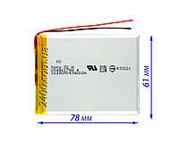 Качественный Аккумулятор для Планшетов (Батарея) 2800mAh/мАч Bravis, Nomi, X-Digital Tab, Jeka, ImPAD 3.7v