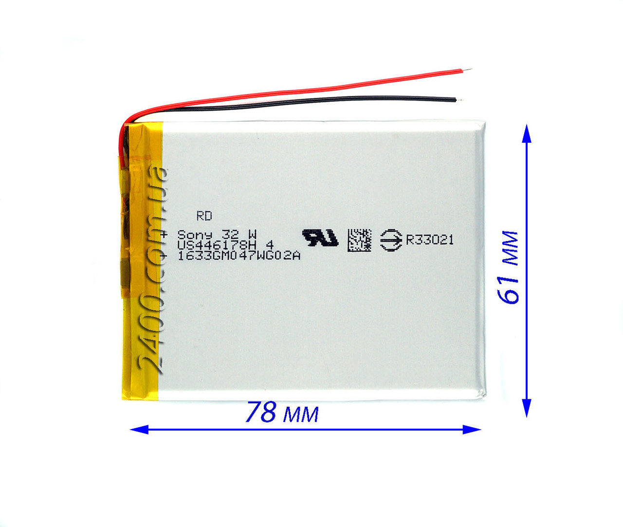 Якісний Акумулятор для Планшетів (Батарея) 2800mAh/маг Bravis, Nomi, X-Digital Табуляції, Jeka, ImPAD 3.7 v
