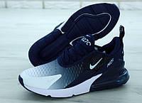 "Кроссовки мужские Nike Air Max 270 Black ""Черные с белым"" найк аир макс р.40-45, фото 1"