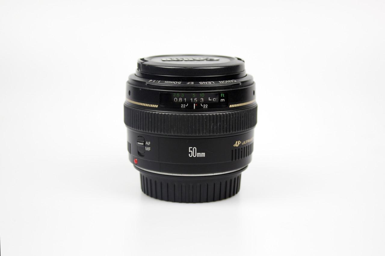 Объектив canon EF 50mm f/1.4 USM б/у