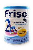 Сухая молочная смесь Фрисолак гипоаллергенный 2 Friso (Фрисо) Frisolac, 400г
