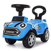 Каталка-толокар детский 616B-4 Синий Гарантия качества Быстрая доставка, фото 1