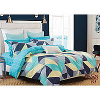"""Молодежный полуторный комплект постельного белья из сатин Viluta """"Яркие краски"""""""