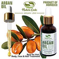 Настоящее Аргановое масло из Марокко, 100% чистое, без добавок - 30мл