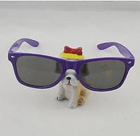 Солнцезащитные классические очки Wayfarer, очки унисекс, для женщин и мужчин, цвет - сиреневый