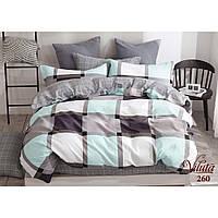 Комплект семейного постельного белья из сатина Viluta в разных цветах 260С